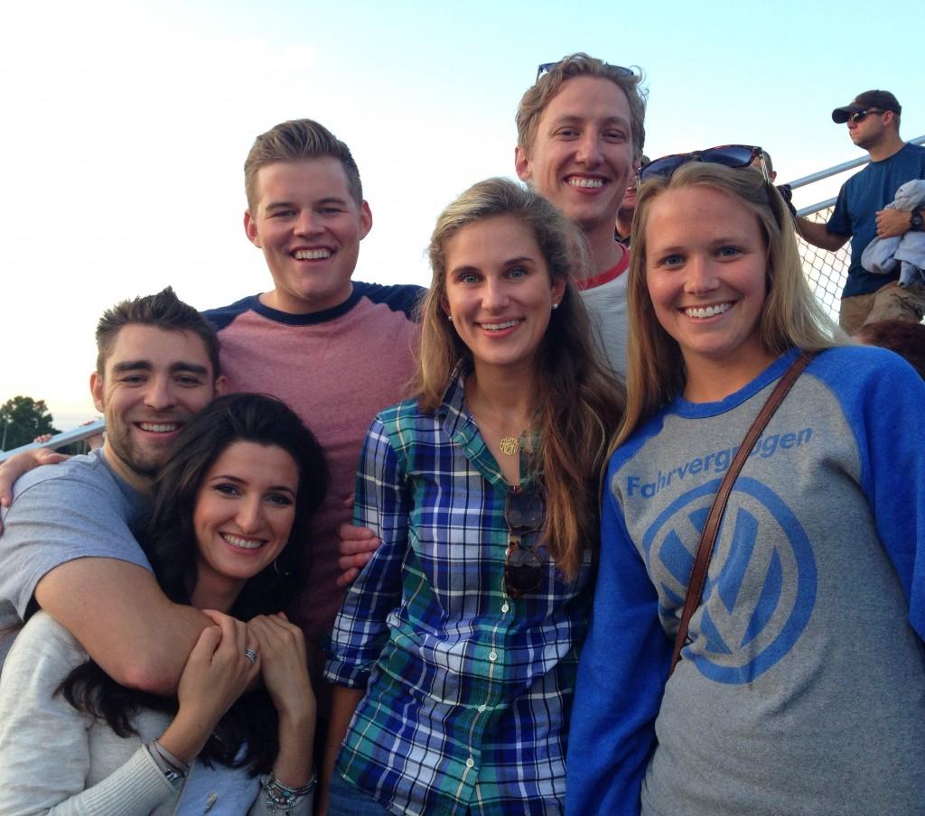 Friends at the fair