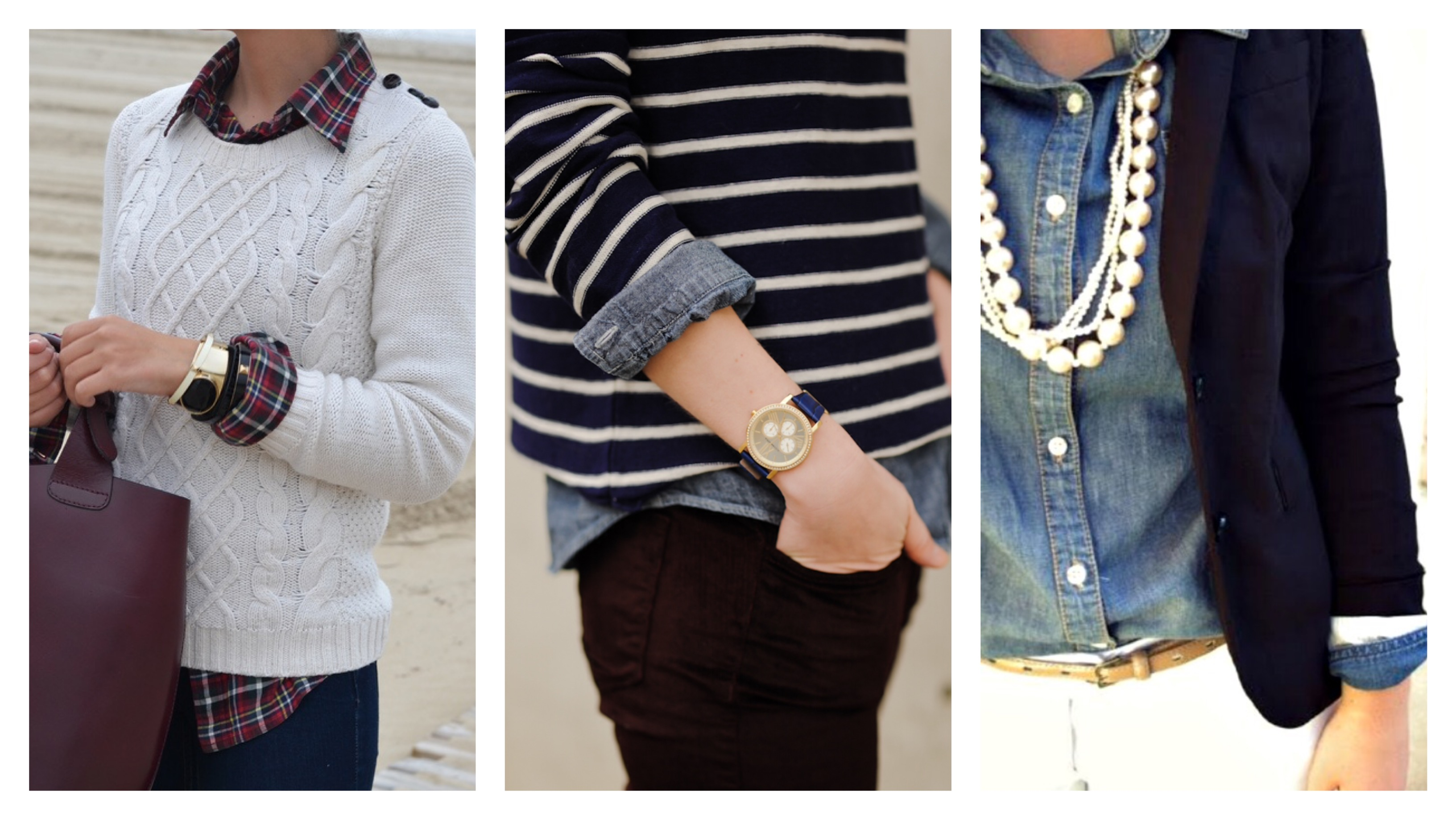 Button Down Shirt And Sweater Howto