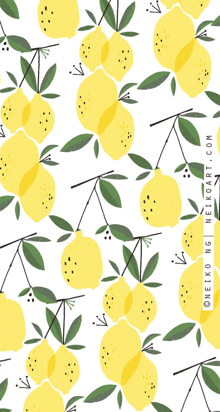 Neiko-Ng-Lemon-Wallpaper-iphone5