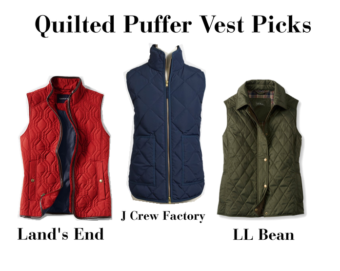 All Hail the Puffer Vest | The Dress Decoded : quilted riding vest - Adamdwight.com