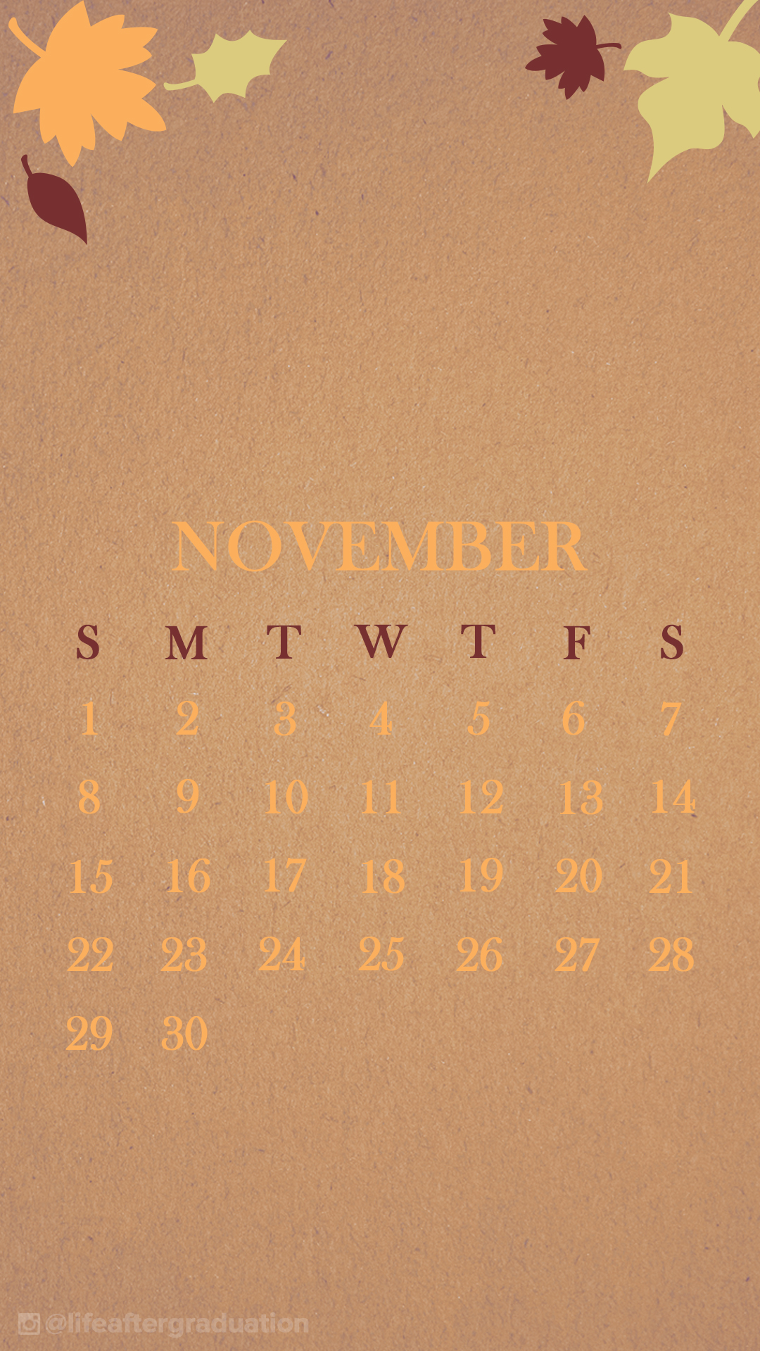 November Calendar Wallpaper For Iphone : November iphone wallpaper the dress decoded