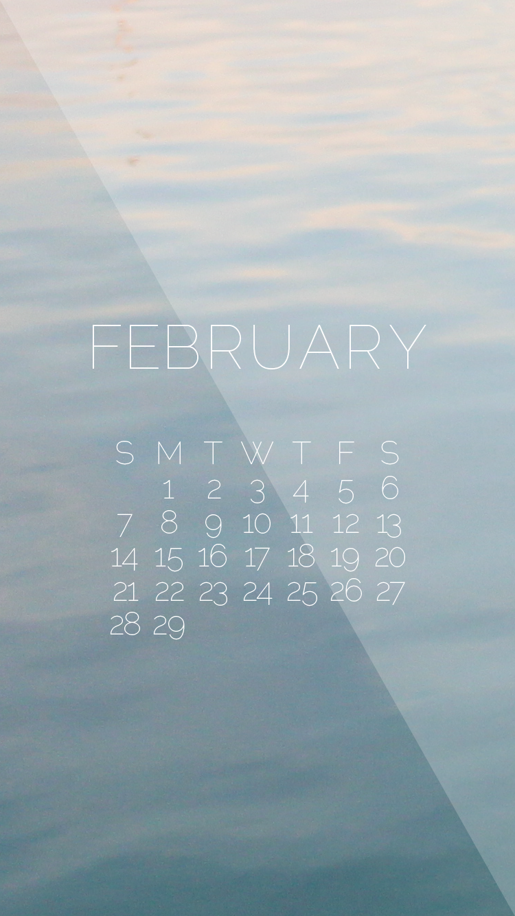 February-2016-Wallpaper-Water-iPhone-Calendar