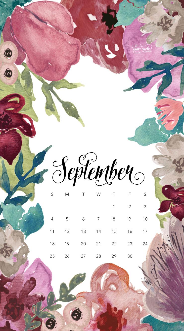 September-2016-Calendar-Phone-DawnNicoleDesigns