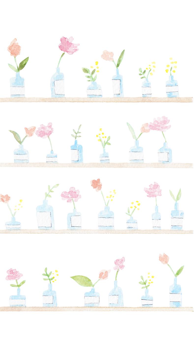 flower shelves